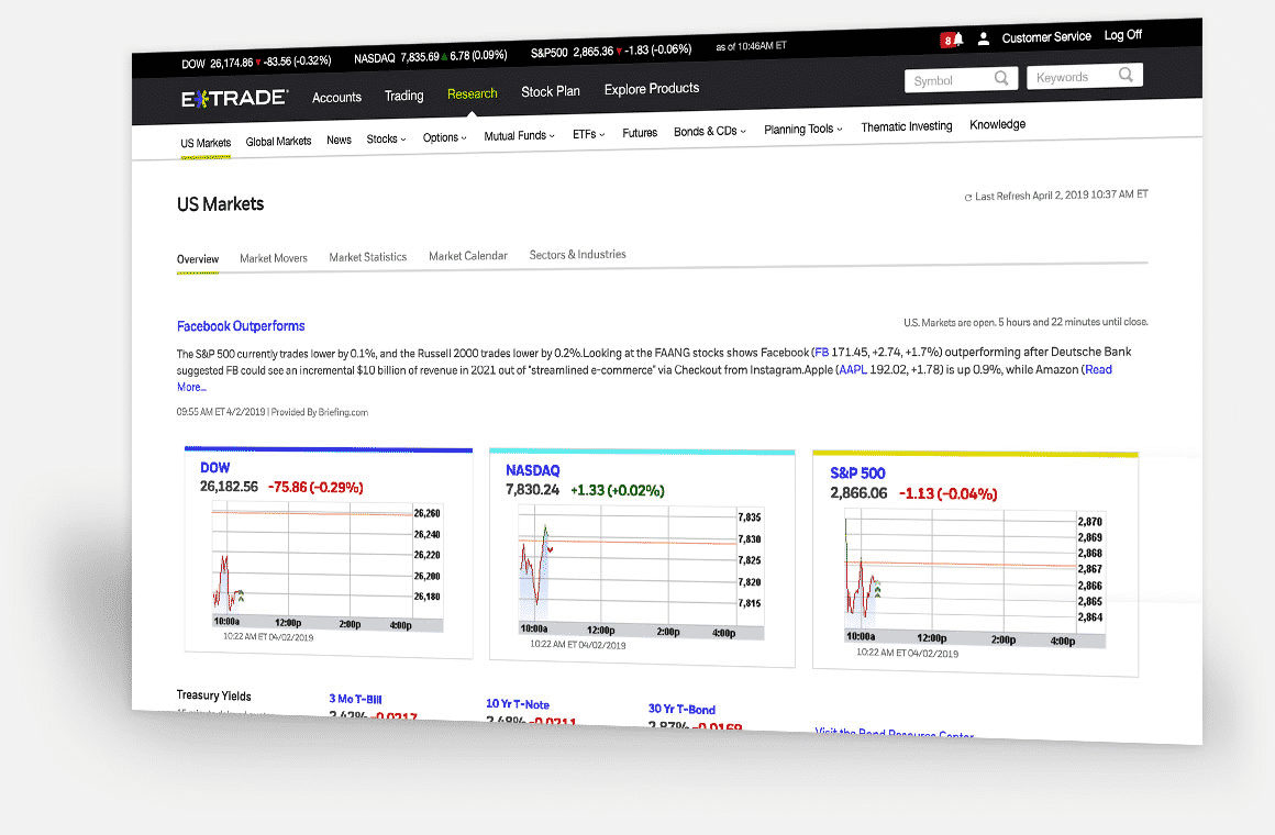 E-Trade: Best research/tools