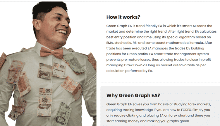 Green Graph EA. How it works
