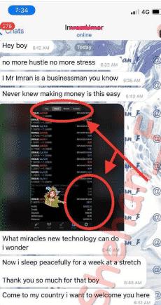 Telegram messages