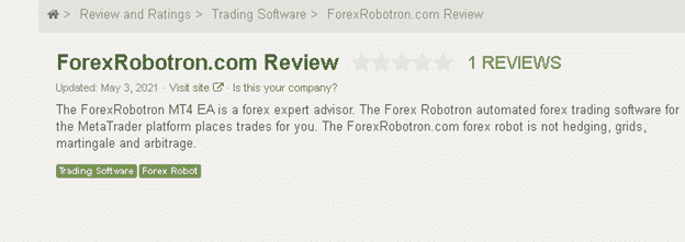 Page on the Forex Peace Army