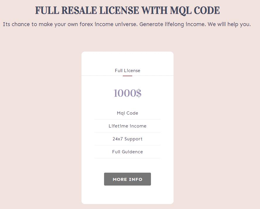 Matalino Forex EA full license