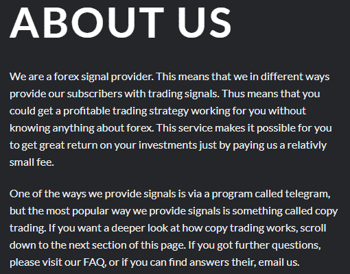 Ohlsen Trading provider information