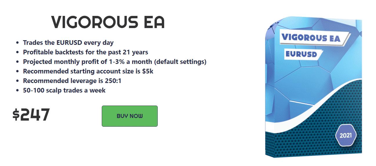 Vigorous EA Pricing