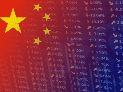 Chinease flag and exchange rates