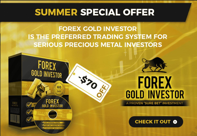 Forex Gold Investor offer